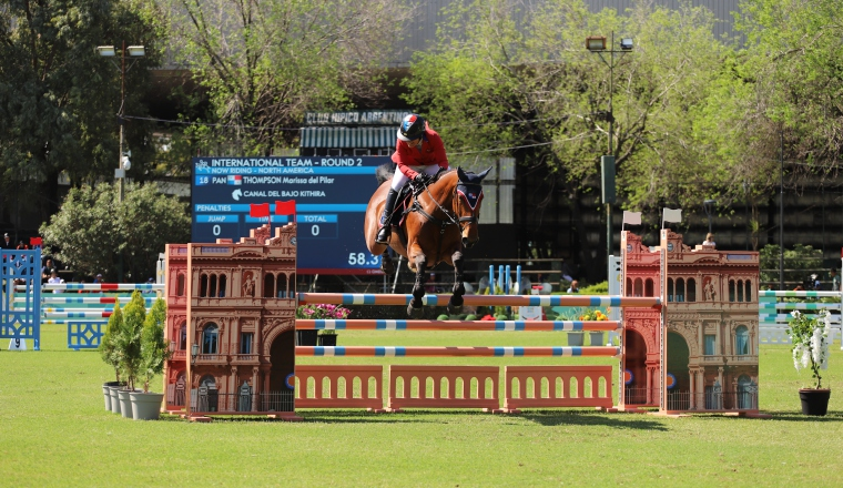 Thompson en los Juegos Olímpicos de la Juventud en Argentina. /Foto Cortesí