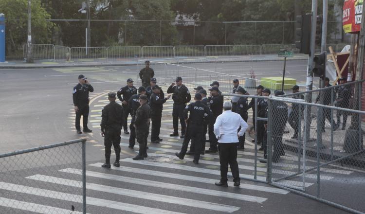 Ábrego tuvo que condicionar la apertura de la instalación de la Asamblea, a la retirada del SPI. Víctor Arosemena