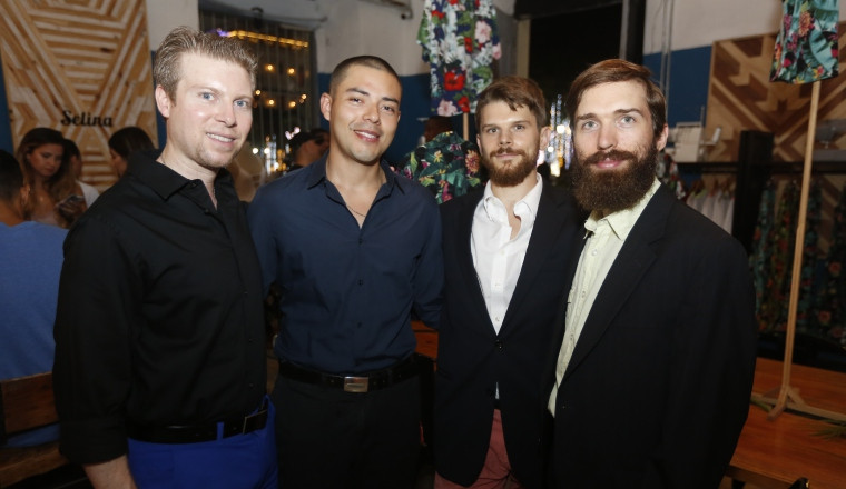 3. Michael Rowley, Joshua Ramírez, Parker Smith y Jacobo Fedrico.
