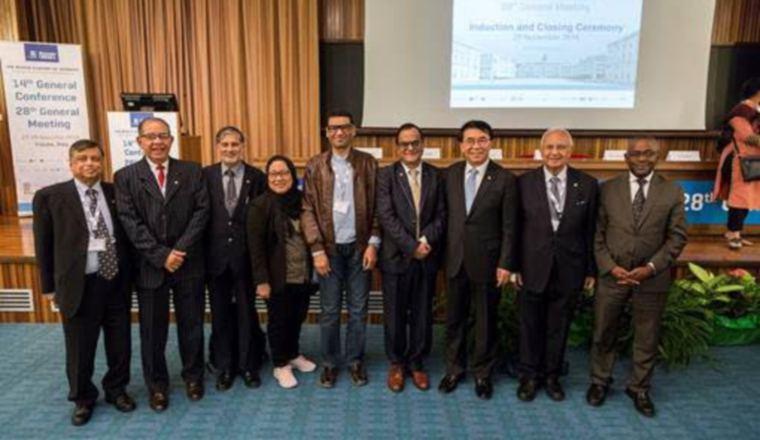 Miembros actuales del Consejo TWAS. /Foto Cortesía