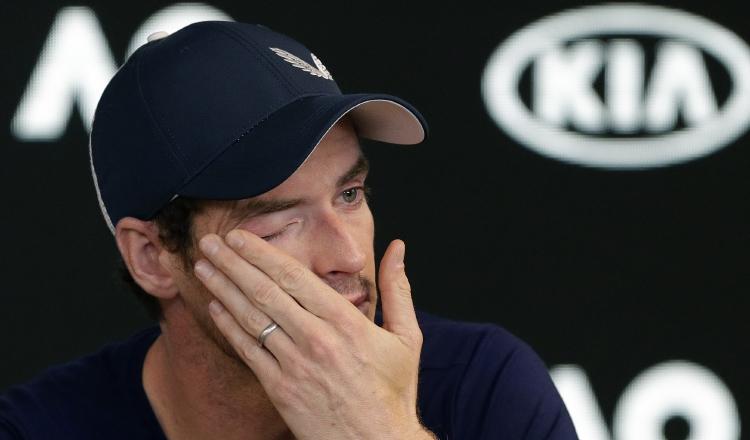 Andy Murray llora al recordar su particular  calvario