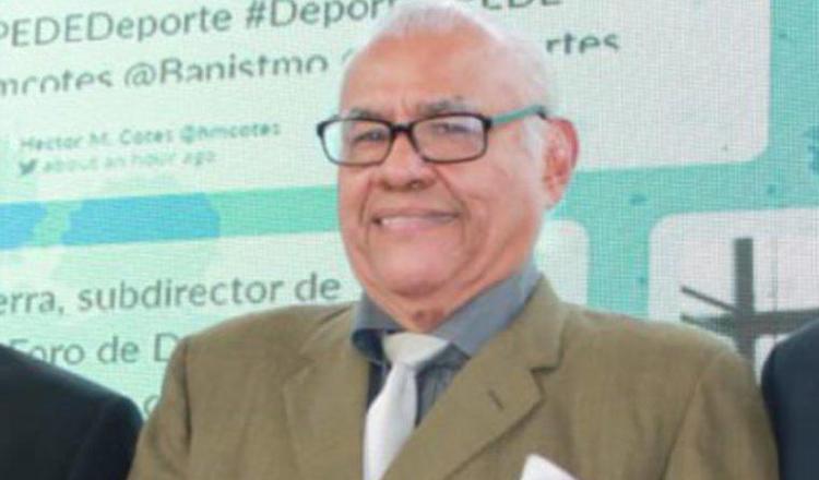 Rafael Samudio es un referente de la narración deportiva nacional. Archivo