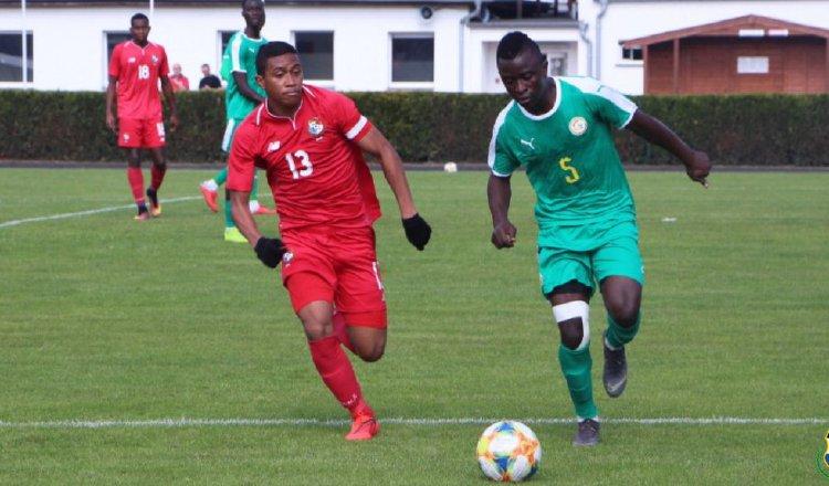 Panamá logró el empate ante Senegal al minuto 80. @Fepafut