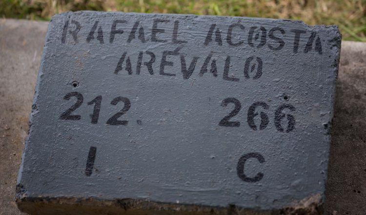 El régimen de Nicolás Maduro enterró el miércoles el cuerpo del capitán de corbeta venezolano Rafael Acosta Arévalo. EFE