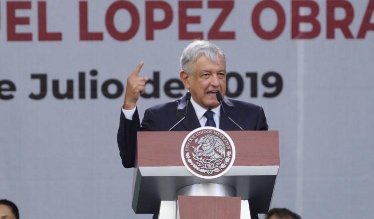 López Obrador, presidente de México, dijo que no ve amenaza de recesión