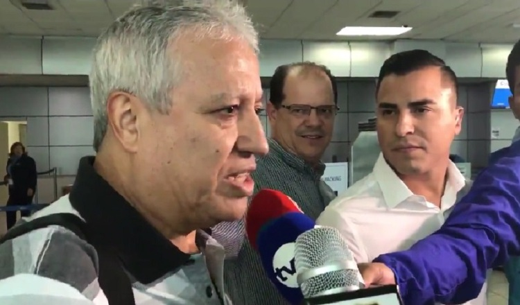Américo Gallego llega descansado para su misión Catar 2022