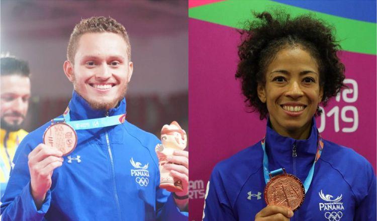 Héctor Cención y Miryam Roper logran bronce, pero querían más