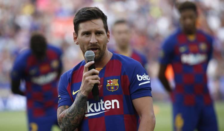 Leo Messi es baja ante Valencia y Dortmund