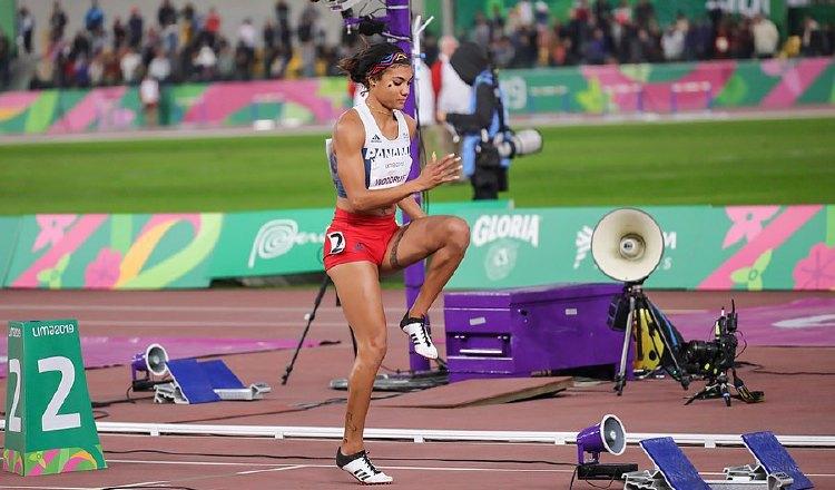 Llegó el turno de Gianna Woodruff en el Mundial de Atletismo