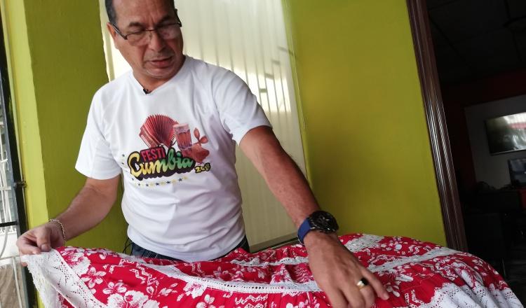 Pollerín chorrerano,  traje exclusivo para la cumbia