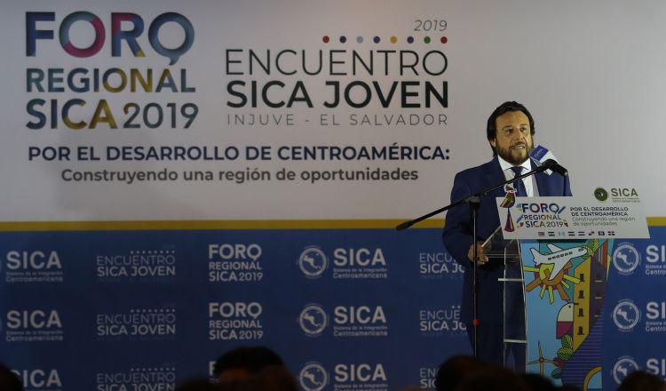 Vicepresidente de El Salvador pide que el Parlacen tenga poder vinculante
