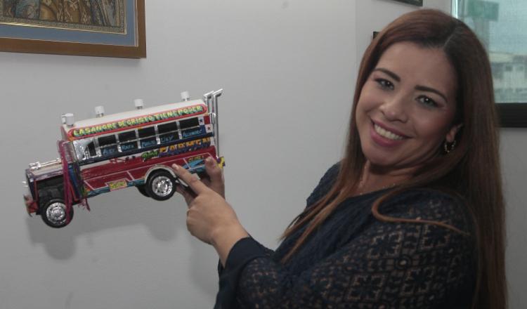Su propuesta profamilia le abrió el camino a la Asamblea Nacional, afirma la diputada Corina Cano. Foto Víctor Arosemena