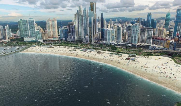 Así quedarían las playas. Cortesía