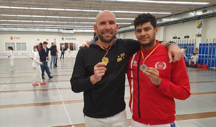 Esgrimista Arturo Dorati gana oro en España