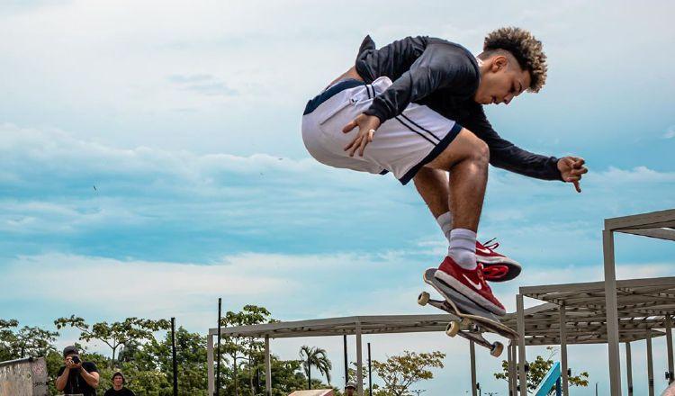 Angello Morales destaca en el Ranking Nacional de Skateboarding