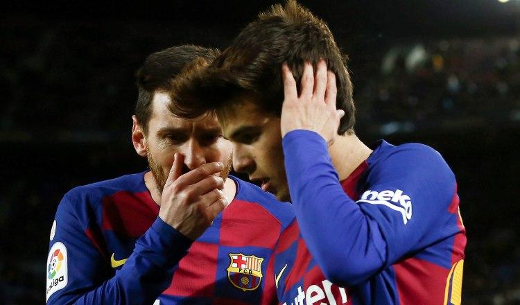 La felicidad de Setién con Barcelona