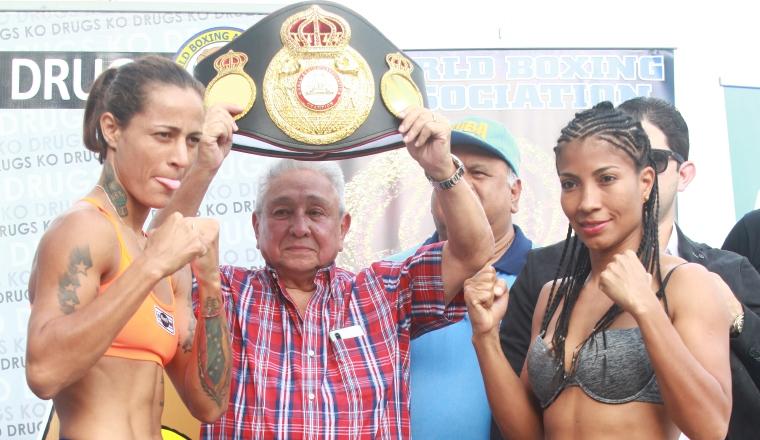 Mayerlin Rivas y Laura Ledezma. Foto:Anayansi Gamez