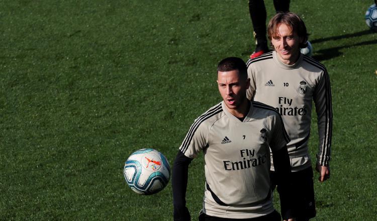 Real Madrid contará con Eden  Hazard hoy para duelo contra el Celta