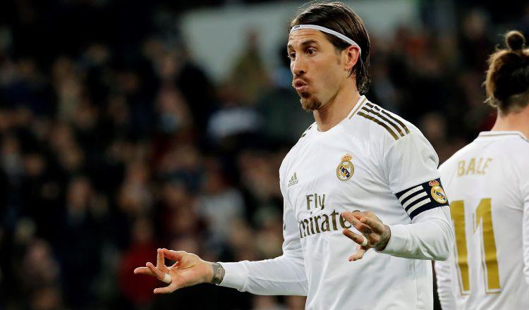 Sergio Ramos lamenta el empate de Real Madrid