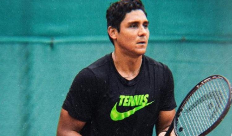 Tenista panameño Walner Espinoza logra triunfo en Francia