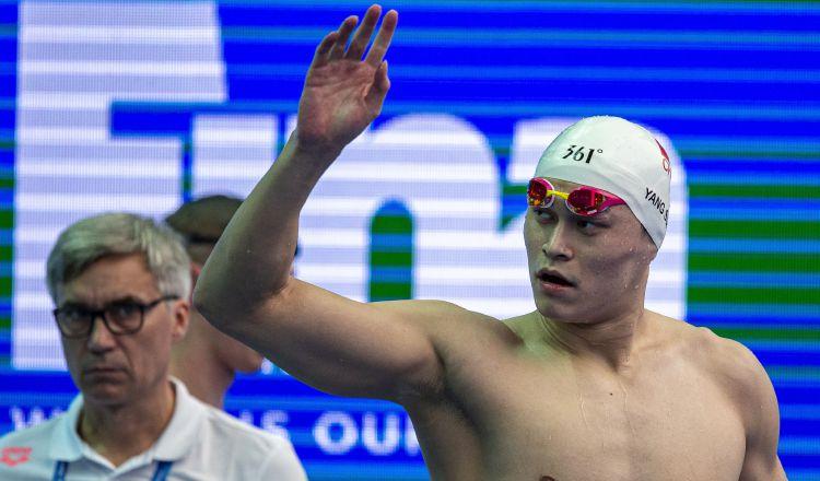 Estrella de la natación china recibe sanción de ocho años