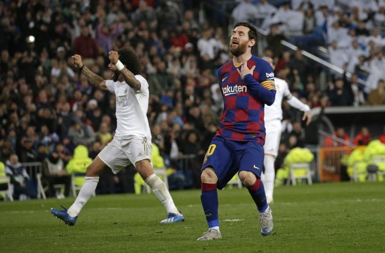 Barcelona sale 'tocado' del Santiago Bernabéu