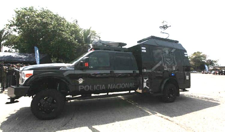 La Pantera: el vehículo táctico vendido por NG a la Policía en 2016, por más de 400 mil dólares.