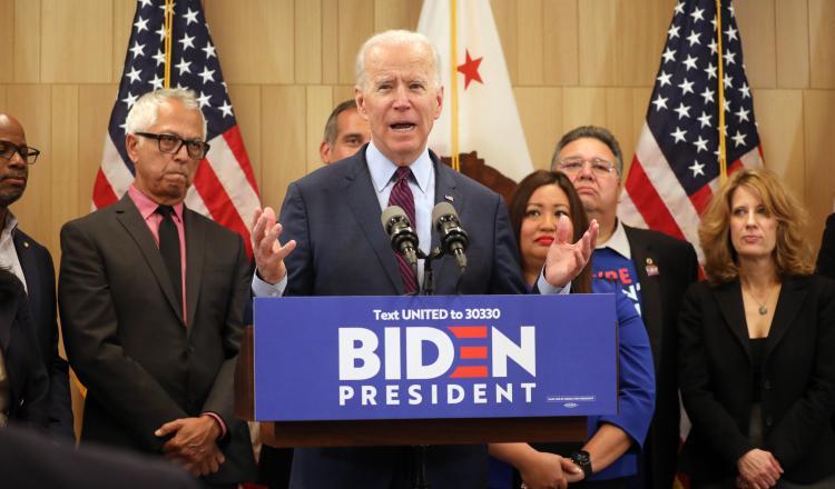 Las divisiones entre los demócratas  crece ante la recuperación de Biden