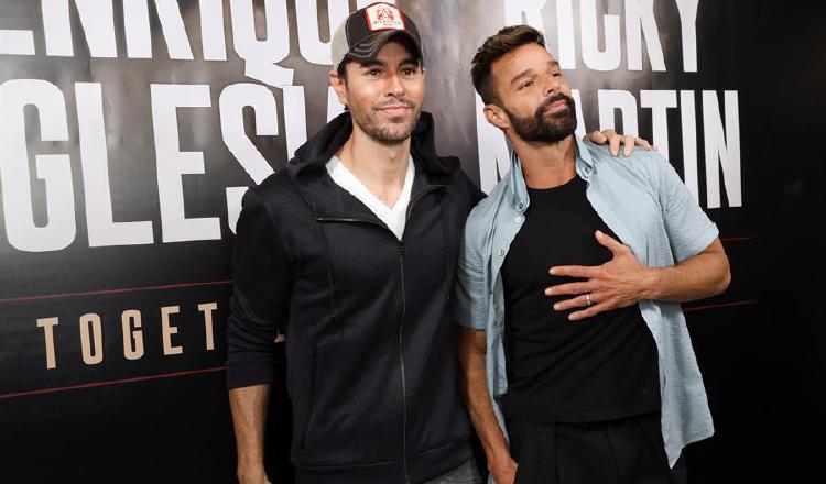 Enrique Iglesias y Ricky Martin anuncian  gira