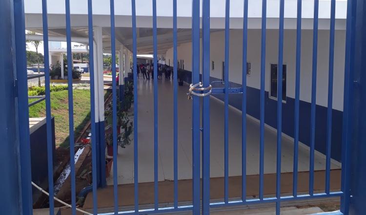 Dos colegios en la región  chiricana se mantienen en paro de labores