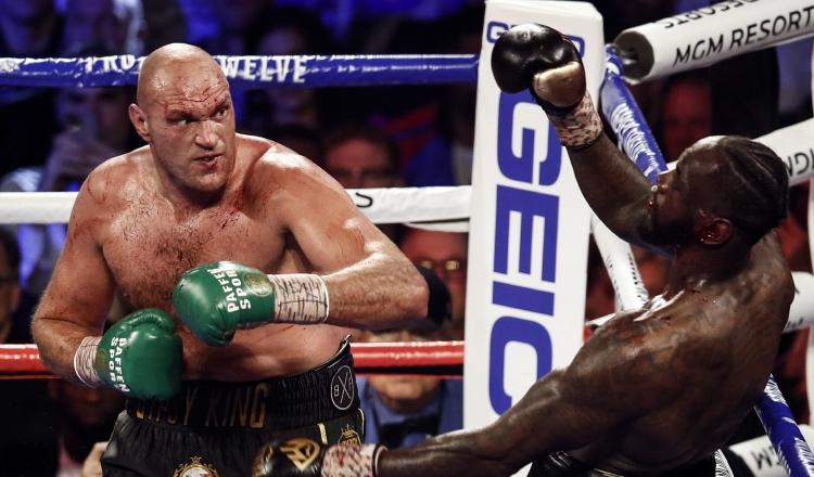 Covid-19 Revancha entre Deontay Wilder y Tyson Fury queda pendiente