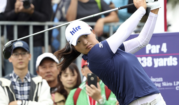 Jin Young Ko de Corea del Sur es una jugadora de la LPGA. Foto:AP