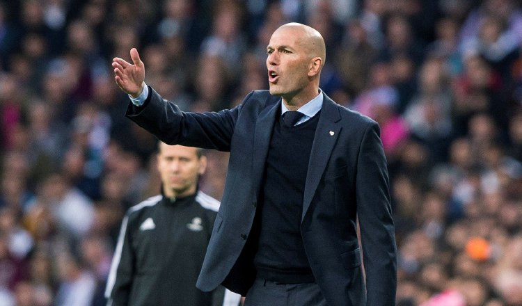 Zidane, técnico del Real Madrid. Foto: EFE