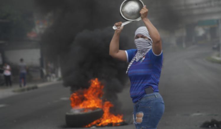 Las protestas públicas en Panamá se han tornado muy comunes en las últimas semanas, con la intervención de la Policía.