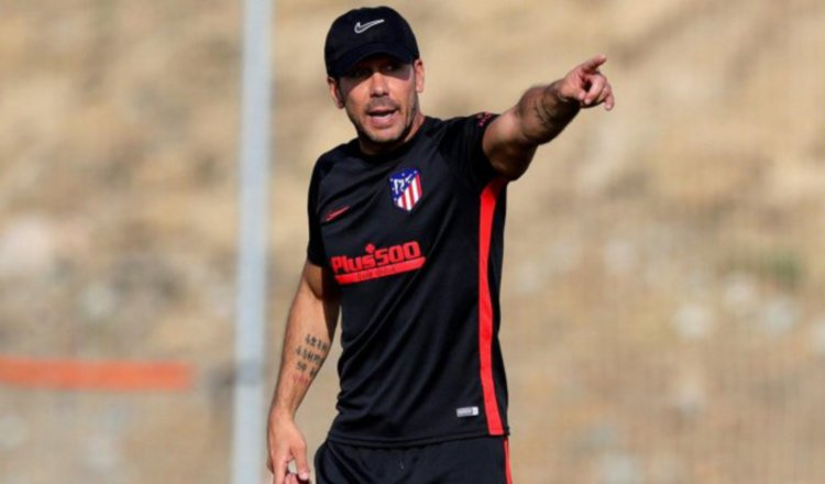 Jugadores del Atlético se someterán a pruebas de COVID-19 antes de volver a entrenar