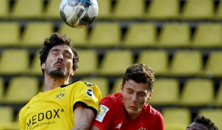Bayern Múnich se impone al Borussia Dortmund en el clásico alemán