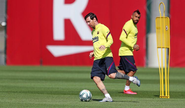 Messi admite que tiene ansiedad por competir
