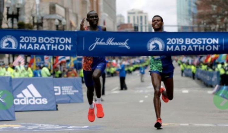 El Maratón de Boston tendrá una versión virtual. Foto:AP
