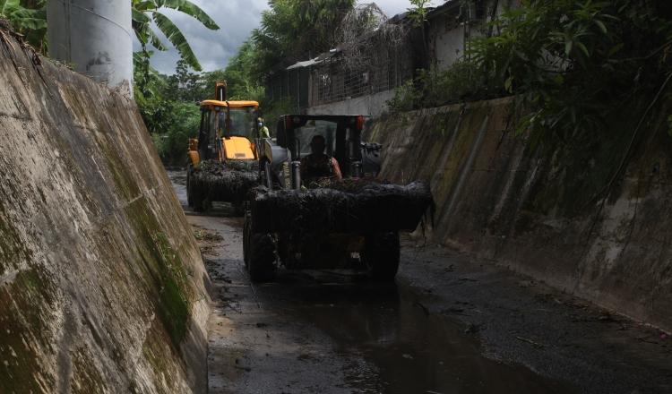 Buscan evitar inundaciones en la ciudad capital