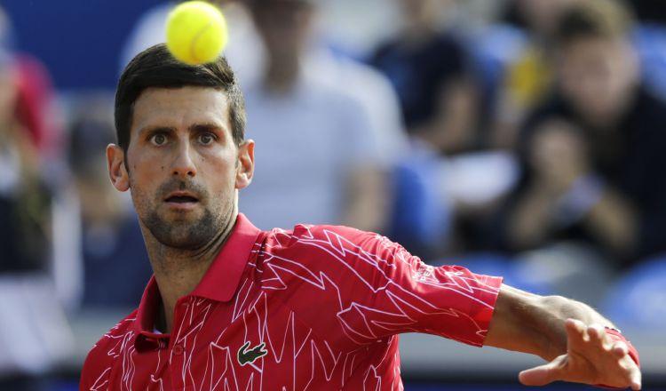 Novak Djokovic de Serbia Foto: EFE