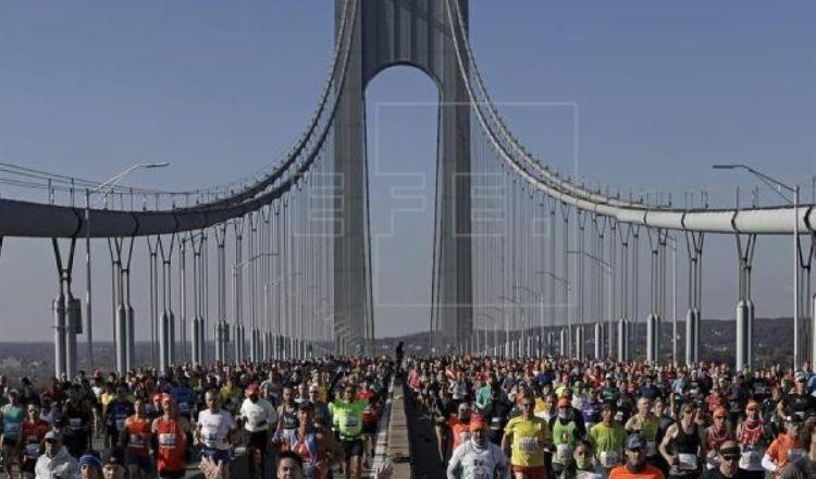 La Maratón de Nueva York fue suspendida por el Nuevo Coronavirus. Foto: EFE