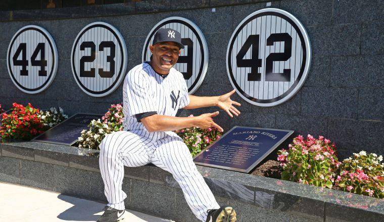 Mariano Rivera mostró su felicidad por el regreso de los juegos en las Grandes Ligas. Foto:EFE