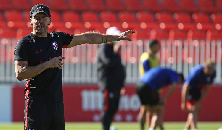 Diego 'Cholo' Simeone se lamenta por empate de Atlético de Madrid contra Celta