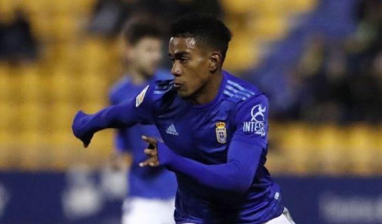 Édgar Yoel Bárcenas, importante para Real Oviedo