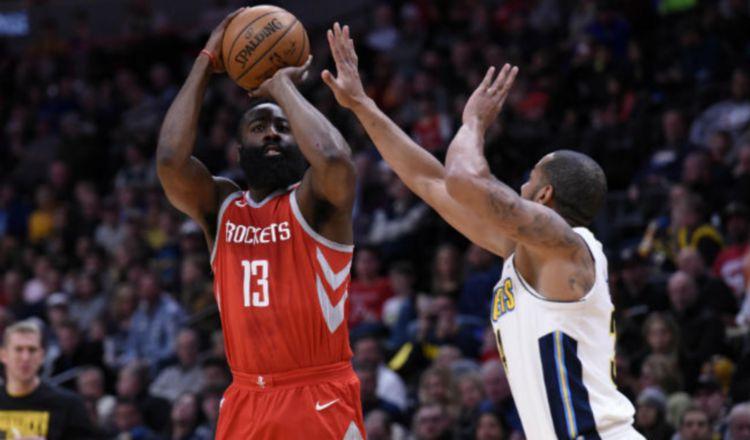 James Harden con los puntos decisivos para los Rockets ante Oklahoma City en la NBA