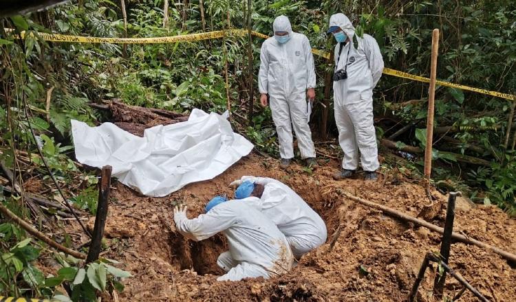 Autoridades tratarán de determinar el sexo y la edad de las personas cuyos restos fueron encontrados en la comarca Ngäbe-Buglé