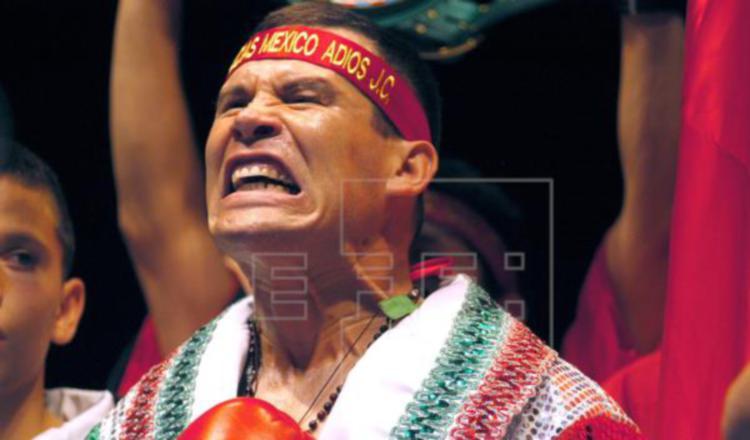 Julio César Chávez seguirá con peleas benéficas para ayudar a personas adictas al alcohol y las drogas