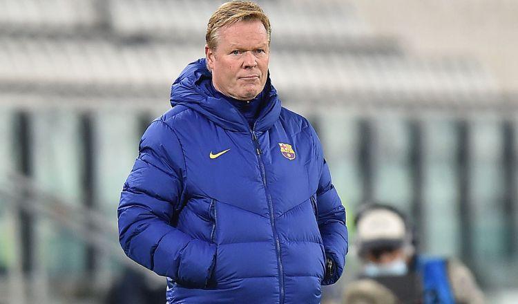 El entrenador del Barcelona, Ronald Koeman. Foto:EFE