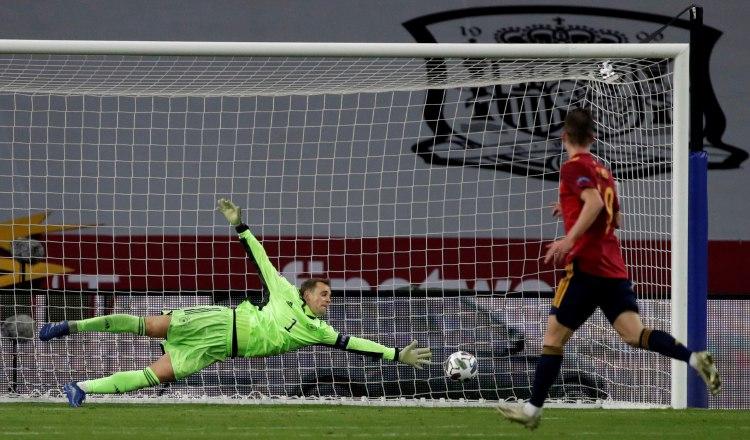 Luis Enrique, juego perfecto en la goleada de España  a Alemania; para Löw es un día negro