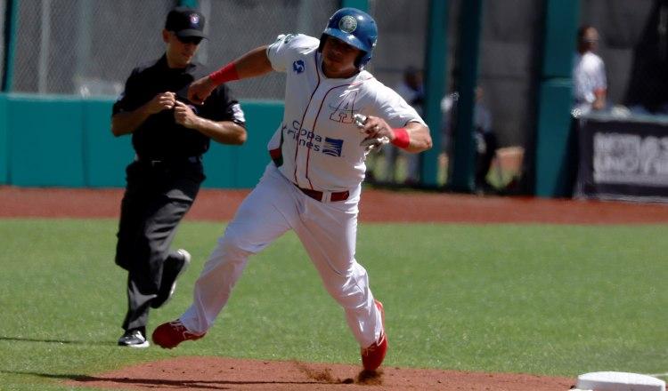Xavier Quiroz jugó el pasado torneo de la Serie del Caribe. Foto:EFE